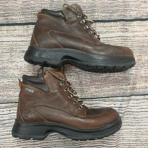 Timberland Men's Goretex Brown Leather Boots Sz 9
